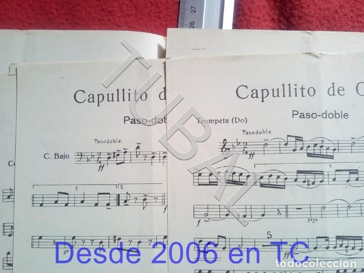 Partituras musicales: TUBAL ANTONIO TABARÉS CAPULLITO DE OLOR MI CULOTE PARTITURA ANTIGUA 1933 P5 - Foto 5 - 197860136