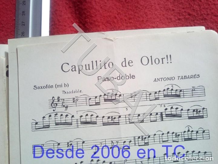Partituras musicales: TUBAL ANTONIO TABARÉS CAPULLITO DE OLOR MI CULOTE PARTITURA ANTIGUA 1933 P5 - Foto 6 - 197860136