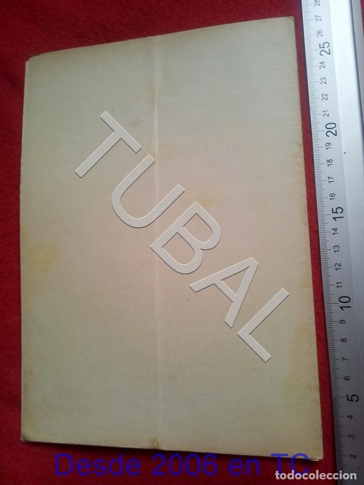 Partituras musicales: TUBAL 1931 PEDRO RIBALTA DE REFILON PASODOBLE PARTITURA P5 - Foto 3 - 197880727