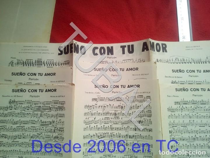 Partituras musicales: TUBAL 1931 PEDRO RIBALTA DE REFILON PASODOBLE PARTITURA P5 - Foto 4 - 197880727