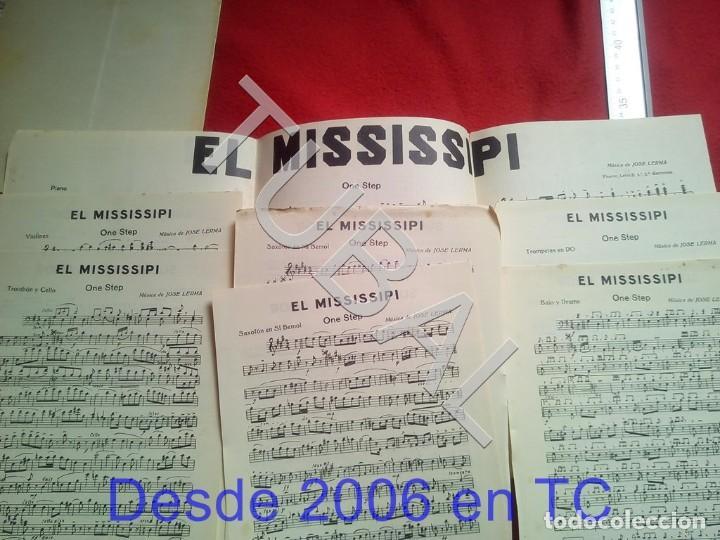 Partituras musicales: TUBAL 1931 PEDRO RIBALTA DE REFILON PASODOBLE PARTITURA P5 - Foto 5 - 197880727
