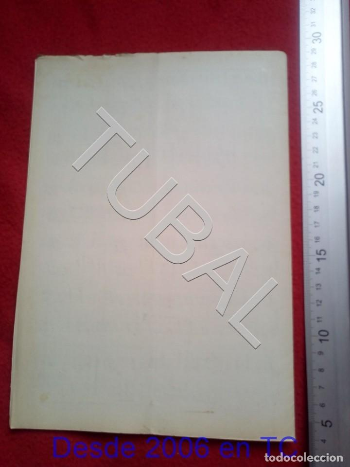Partituras musicales: TUBAL JOAQUIN VERT BIBELOT CHOTIS 1930 PARTITURA P5 - Foto 3 - 197881465