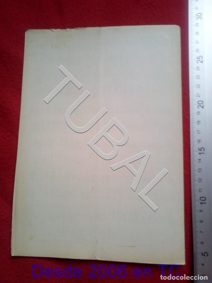 Partituras musicales: TUBAL JOAQUIN VERT BIBELOT CHOTIS 1930 PARTITURA P5 - Foto 4 - 197881465
