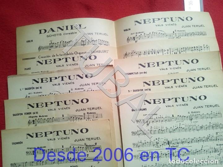 Partituras musicales: TUBAL JUAN TERUEL DANIEL NEPTUNO CHOTIS VALS VIENÉS 1934 PARTITURA P5 - Foto 2 - 197881631