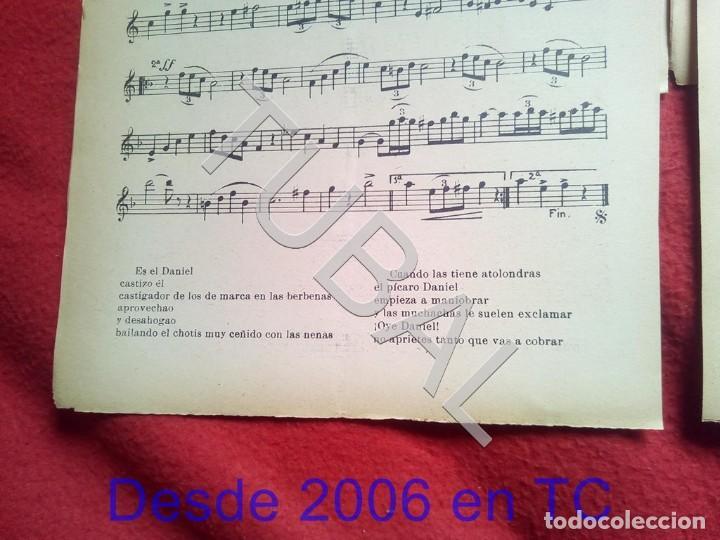 Partituras musicales: TUBAL JUAN TERUEL DANIEL NEPTUNO CHOTIS VALS VIENÉS 1934 PARTITURA P5 - Foto 5 - 197881631
