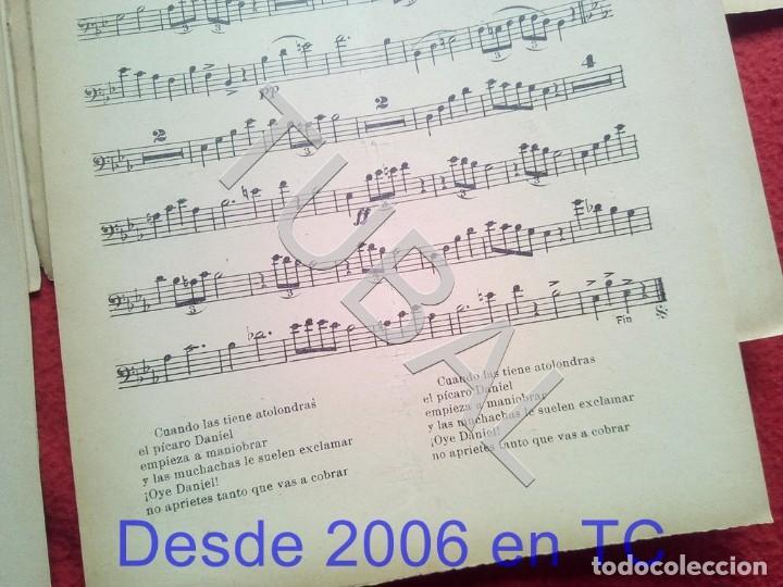 Partituras musicales: TUBAL JUAN TERUEL DANIEL NEPTUNO CHOTIS VALS VIENÉS 1934 PARTITURA P5 - Foto 6 - 197881631
