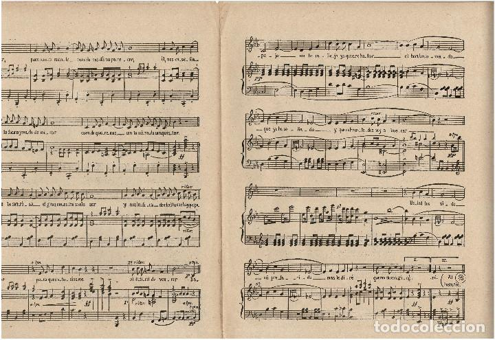 Partituras musicales: ESPEJO IDEAL. RAMON VIDAL. ED. DO-RE-MI. - Foto 3 - 200176395