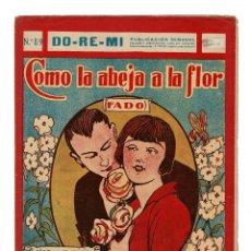 Partituras musicais: COMO LA ABEJA A LA FLOR. FADO. FRANCISCO FERRER. ED. DO-RE-MI.. Lote 200297321
