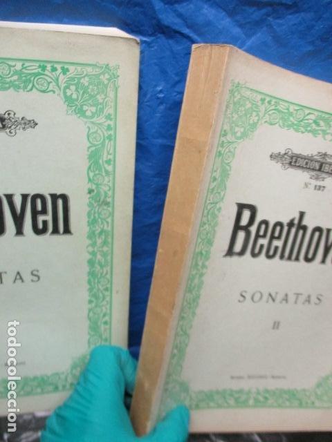 Partituras musicales: Beethoven Sonatas I y II Edición Iberica - editorial Boileau - Foto 2 - 200306446