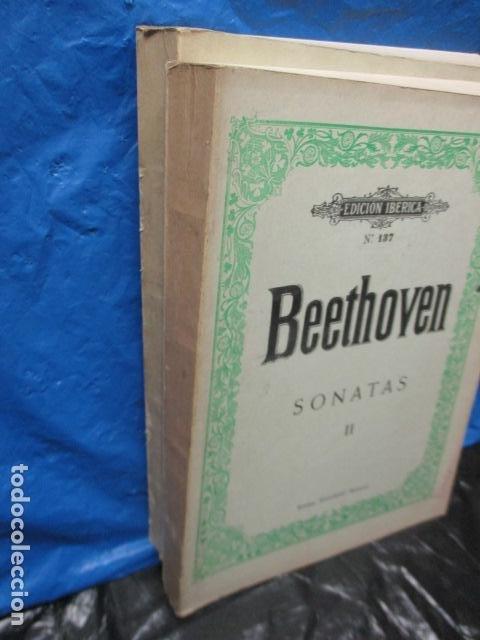 Partituras musicales: Beethoven Sonatas I y II Edición Iberica - editorial Boileau - Foto 3 - 200306446