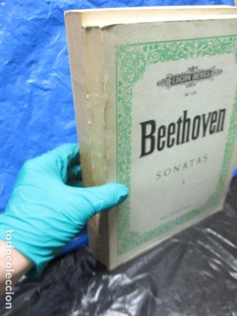 Partituras musicales: Beethoven Sonatas I y II Edición Iberica - editorial Boileau - Foto 6 - 200306446
