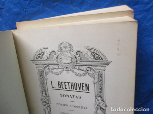 Partituras musicales: Beethoven Sonatas I y II Edición Iberica - editorial Boileau - Foto 11 - 200306446