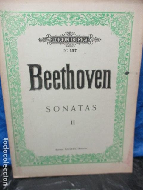Partituras musicales: Beethoven Sonatas I y II Edición Iberica - editorial Boileau - Foto 19 - 200306446