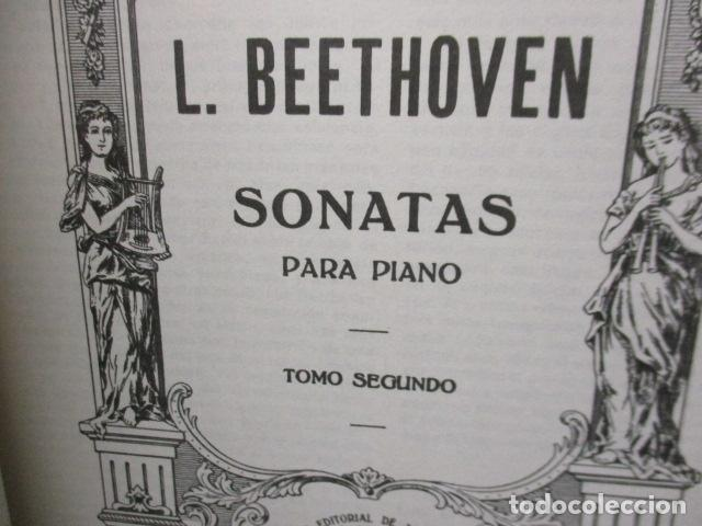 Partituras musicales: Beethoven Sonatas I y II Edición Iberica - editorial Boileau - Foto 21 - 200306446
