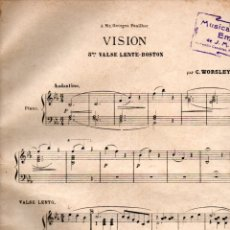 Partituras musicales: CLIFTON WORSLEY : VISION (ASTORT, S.F.). Lote 200312965