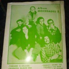 Partituras musicales: ÁLBUM MOCEDADES 5 CON CIFRADO Y RITMO PARA GUITARRA DISCORAMA EDICIONES MUSICALES UNICO?. Lote 200574745