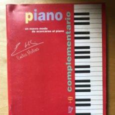Partituras musicales: PIANO - EMILIO MOLINA - COMPLEMENTARIO 2. Lote 202261575