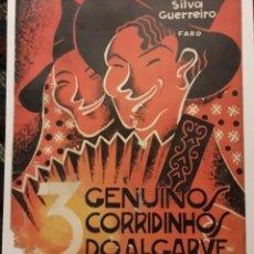 Partituras musicales: GENUINOS CORRIDINDOS DO ALGARVE PARTITURA DE COLECCION ANTIGUA. Lote 203098461