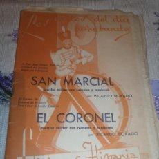 Partituras musicales: PARTITURAS MARCHAS MILITARES. EDICIONES HISPANIA. Lote 203727940