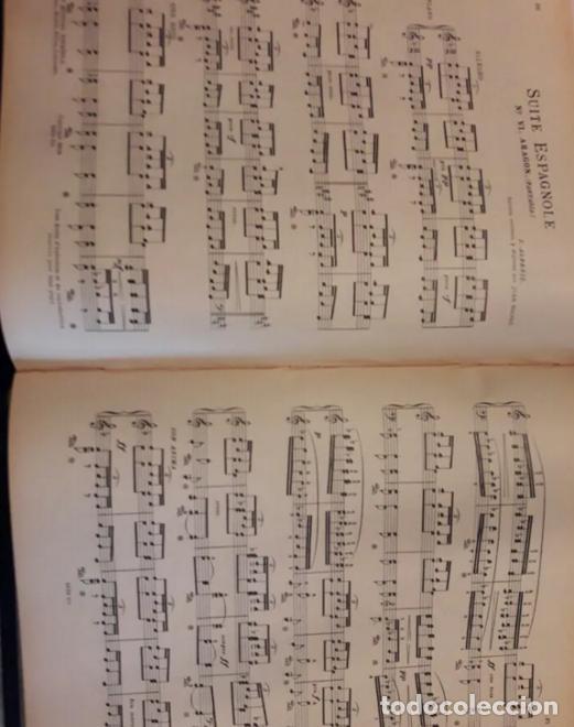 Partituras musicales: Albeniz.Falla.Iberia1907.Suite Espagnole1918.Unión Musical Española.Partituras. Piano.Música clásica - Foto 3 - 203817058