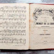 Partituras musicales: ANTIGUO LIBRO DE PARTITURAS PARA PIANO DEL S XIX. Lote 203872511
