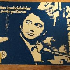 Partituras musicais: ÉXITOS INOLVIDABLES PARA GUITARRA N° 6 Y 12. Lote 203907565