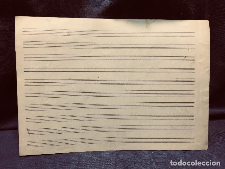 Partituras musicales: partitura manuscrita S XIX ensueño vals por M. JIMENEZ DE LA ACEÑA 22x30cms - Foto 2 - 204240971