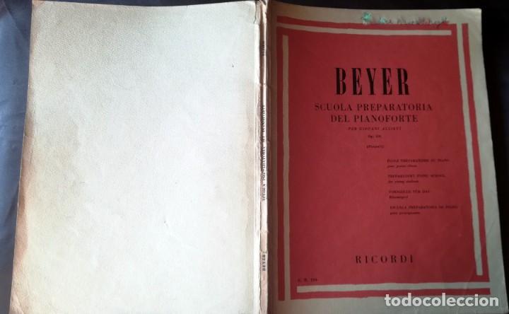 Partituras musicales: Beyer Scuola Preparatoria Del Pianoforte Per Giovani Allievi Op. 101 (Pozzoli) - Ricordi Tapa blanda - Foto 3 - 205287878