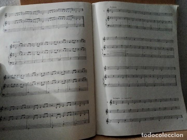 Partituras musicales: TRATADO DE SOLFEO. CURSO I. Sociedad didáctico musical. MADRID. 1972 - Foto 3 - 205306751