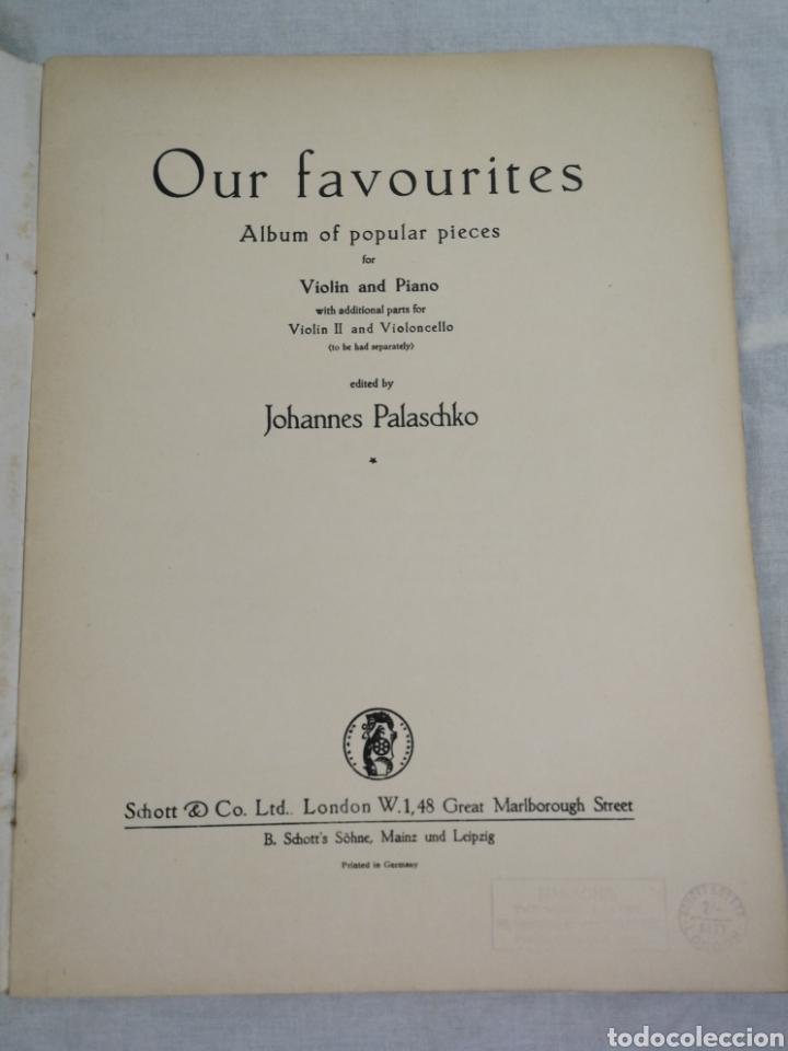 Partituras musicales: ANTIGUO CUADERNO DE PARTITURAS - Foto 3 - 205405146
