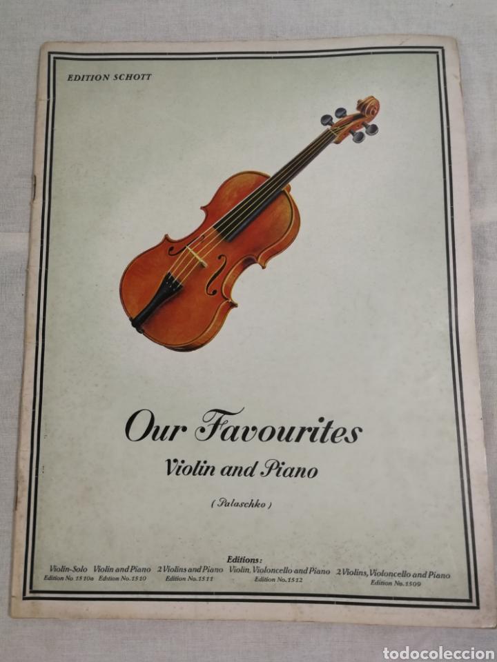 ANTIGUO CUADERNO DE PARTITURAS (Música - Partituras Musicales Antiguas)