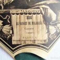 Partituras musicales: PARTITURA 536 LA SANGRE DE MALASAÑA DE PADILLA, PARA GRAMOLA MARCA DIANA EN BUEN ESTADO. Lote 205443802