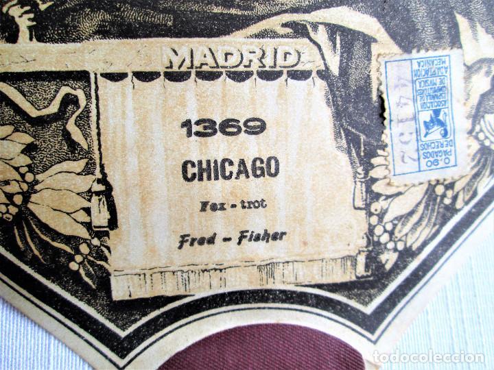 Partituras musicales: PARTITURA Nº 1369 CHICAGO FOX-TROT DE FRED-FISHER, PARA GRAMOLA MARCA DIANA EN BUEN ESTADO - Foto 3 - 205469636