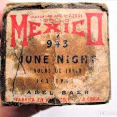 Partituras musicales: PARTITURA Nº 943 JUNE NIGHT (NOCHE DE JUNIO) FOX-TROT DE ABEL BAER, PARA GRAMOLA MARCA MEXICO. Lote 205471091