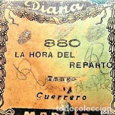 Partituras musicales: PARTITURA Nº 880 LA HORA DEL REPARTO TAHGO DE GUERRERO, PARA GRAMOLA MARCA DIANA EN BUEN ESTADO. Lote 205470840