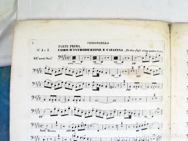 Partituras musicales: VERDI. IL TROVATORE. MILANO. TITTO di GIO RICORDI. OPERA. SIGLO XIX. PRIMERA EDICIÓN ? - Foto 4 - 206147208