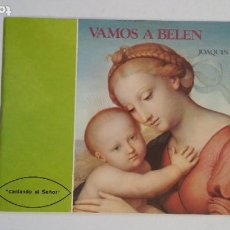 Partituras musicales: VAMOS A BELÉN - JOAQUÍN MADURGA - CORAL SANTIAGO DE PAMPLONA. TDK181. Lote 206469425