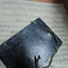 Partituras musicales: MANUSCRITO VALENCIA PASODOBLE POR J. SERRANO ANTIGUAS PARTITURAS MANUSCRITAS. Lote 206517937