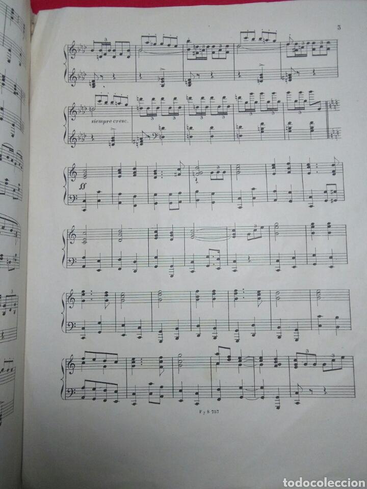 Partituras musicales: Antigua partitura bodas reales D.Alfonfo XIII y D.Victoria ugenia de battenberg - Foto 3 - 208043132