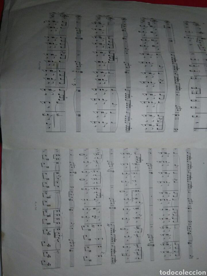 Partituras musicales: Antigua partitura bodas reales D.Alfonfo XIII y D.Victoria ugenia de battenberg - Foto 4 - 208043132