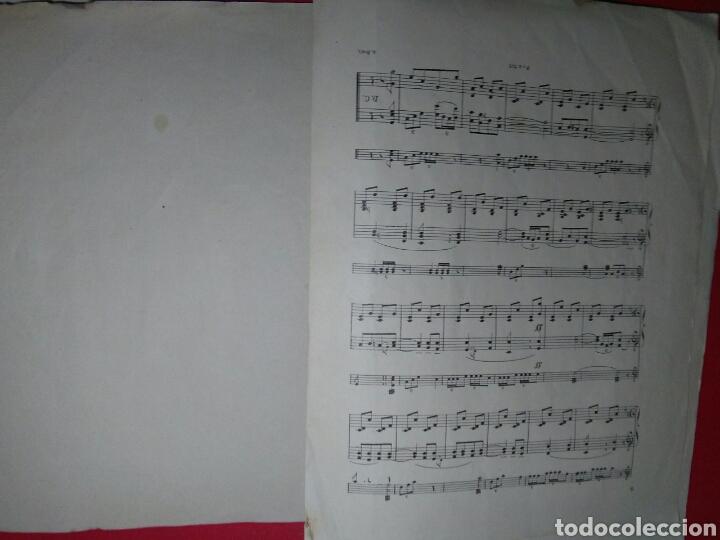 Partituras musicales: Antigua partitura bodas reales D.Alfonfo XIII y D.Victoria ugenia de battenberg - Foto 5 - 208043132