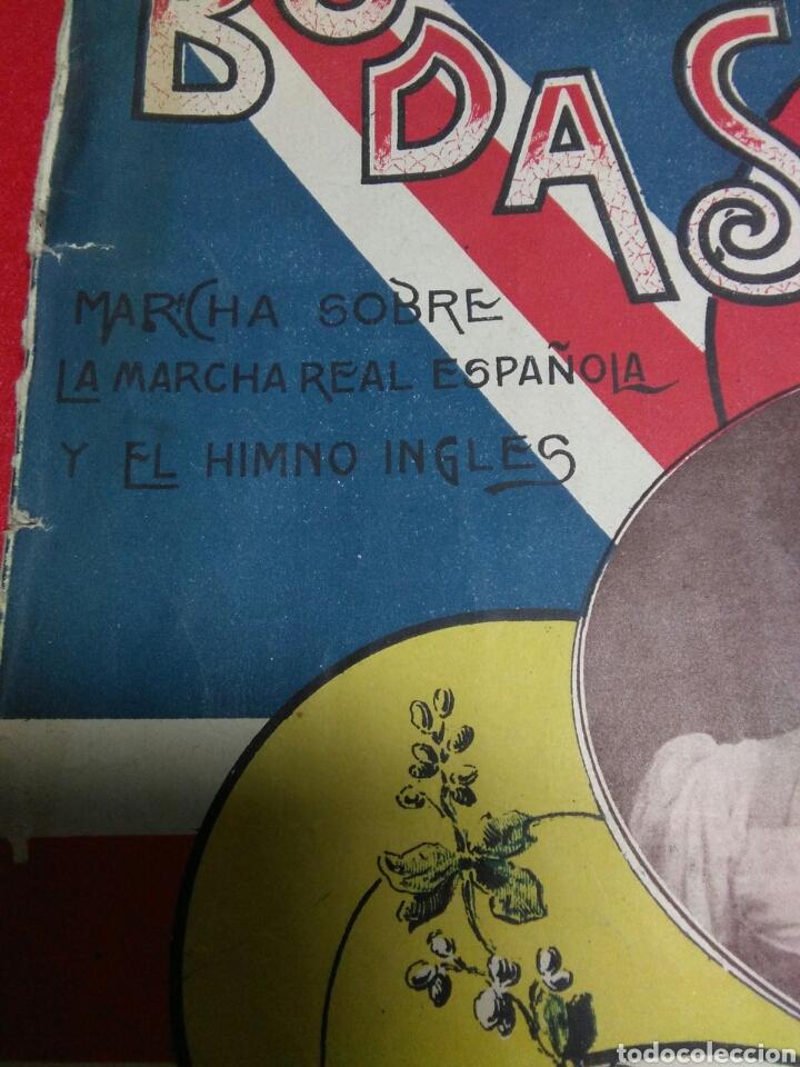 Partituras musicales: Antigua partitura bodas reales D.Alfonfo XIII y D.Victoria ugenia de battenberg - Foto 8 - 208043132