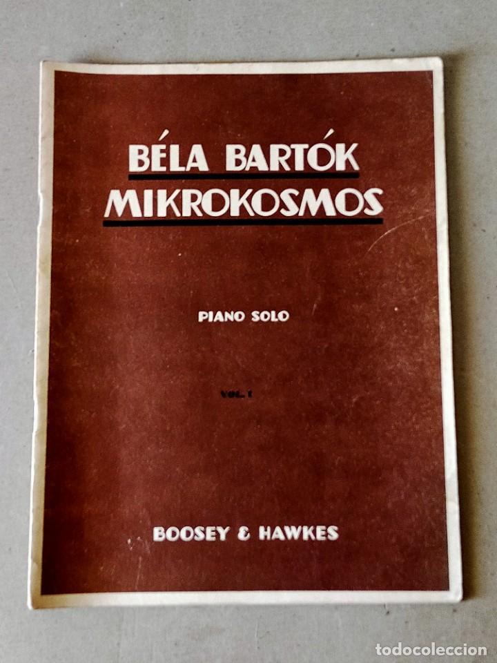 PARTITURA - BÉLA BARTÓK / MIKROKOSMOS (PIANO SOLO) VOL 1 - BOOSEY & HAWKES (Música - Partituras Musicales Antiguas)