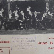 Partituras musicales: VIDALITA, PARTITURA PARA CANTO Y PIANO DE 1925. Lote 211478850