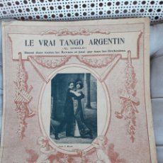 Partituras musicales: ANTIGUA PARTITURA PARA PIANO DE 1911, EDITADO EN FRANCIA. Lote 211479229