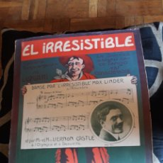 Partituras musicales: ANTIGUA PARTITURA PARA PIANO DE 1913, EDITADO EN FRANCIA. Lote 211480096