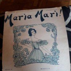 Partituras musicales: ANTIGUA PARTITURA PARA CANTO Y PIANO, EDITADO EN ITALIA. Lote 211480390