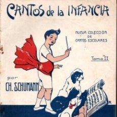 Partituras musicales: SCHUMANN : CANTOS DE LA INFANCIA (BOILEAU, S.F.). Lote 211795283