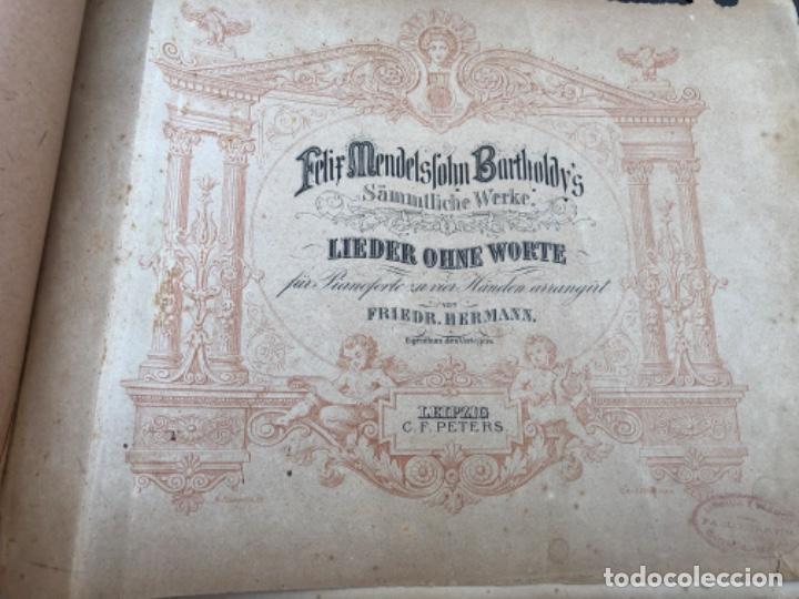 ANTIGUAS PARTITURAS DE PIANO (Música - Partituras Musicales Antiguas)