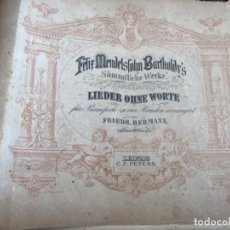 Partituras musicales: ANTIGUAS PARTITURAS DE PIANO. Lote 212292023